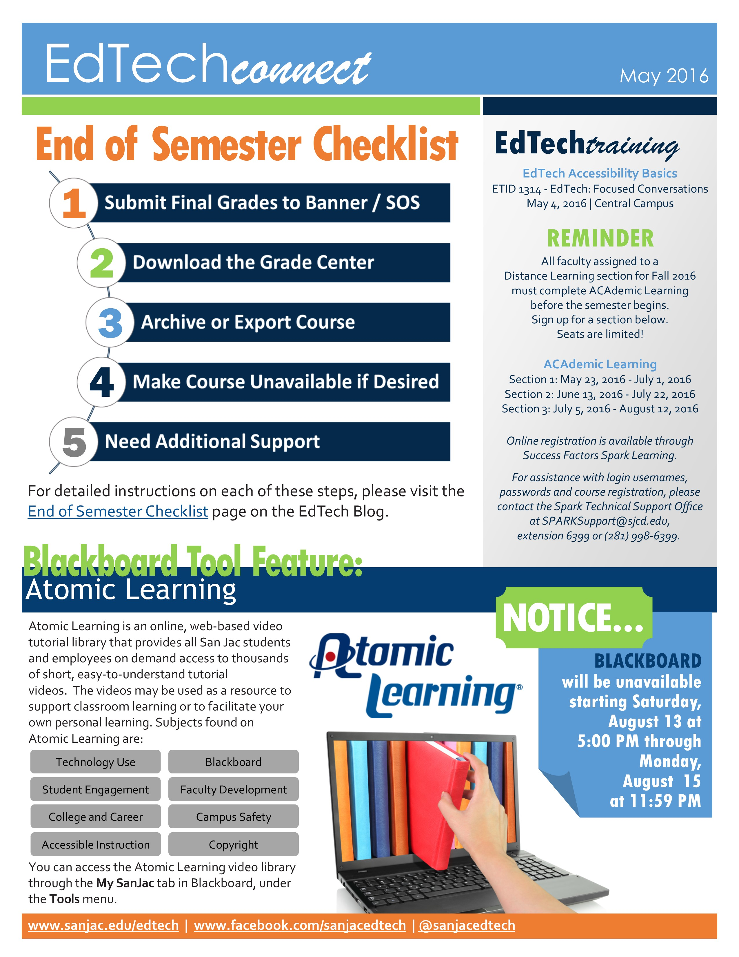 EdTech Connect Newsletter_May_2016