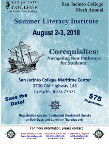 Summer Literacy Institute 2018
