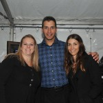 Andy Pettitte with SJC students