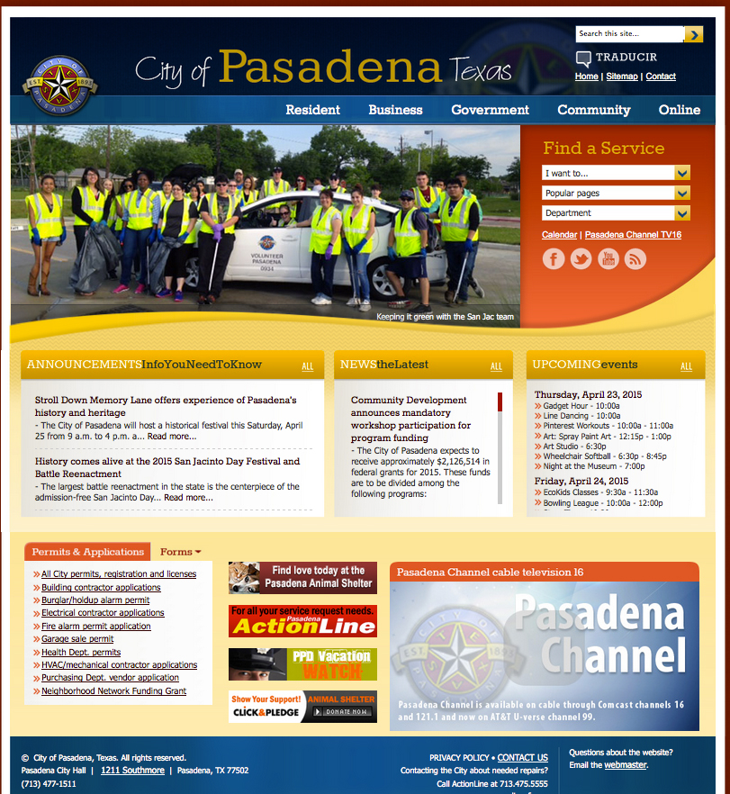 City of Pasadena photo