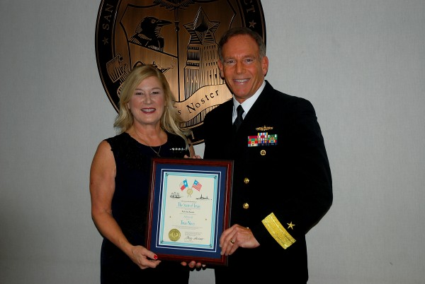 Ruth Keenan named Honorary Admiral of Texas Navy