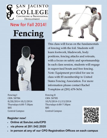 Fencing Fall 2014