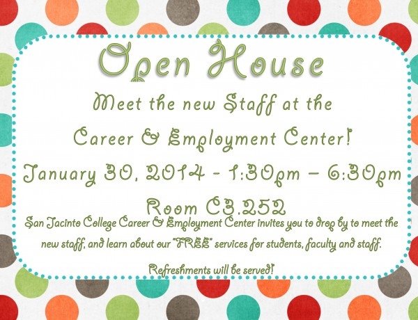 Microsoft Word - Open House Flyer - Jan2014.docx