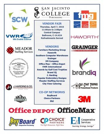 SJC Vendor Fair Flyer 4-7-16