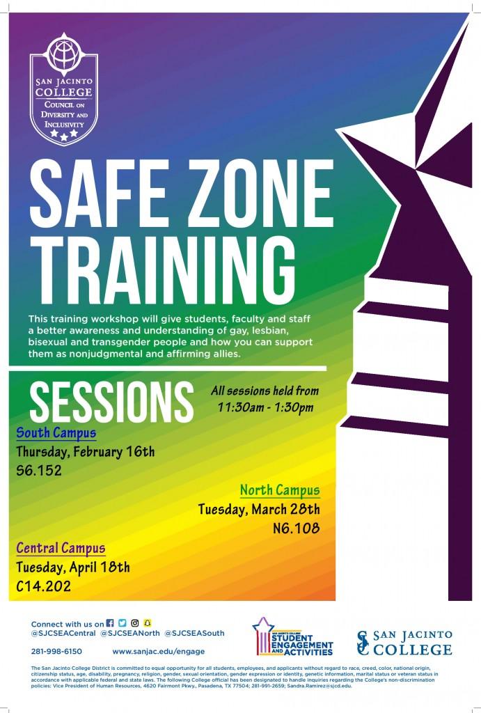 Safe Zone Spring 2017