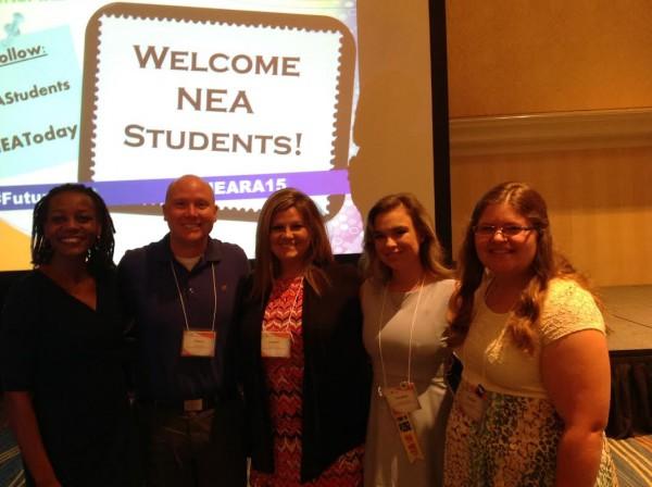 San Jac TSTA students at the National Education Association