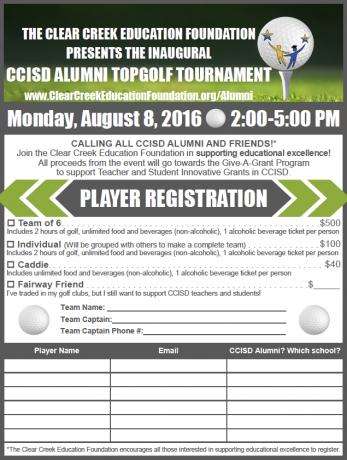 CCISD Alumni TopGolf event